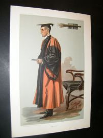 Vanity Fair Print 1899 Rev. Joseph Wood, Teacher